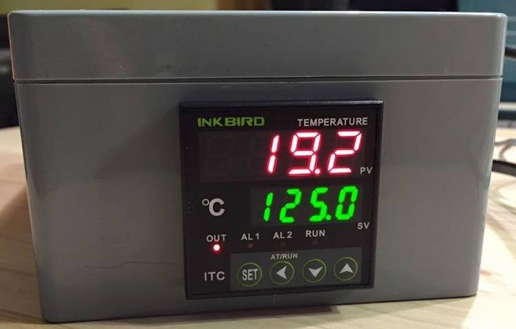 Pitmaster mit korrekter Temperaturanzeige