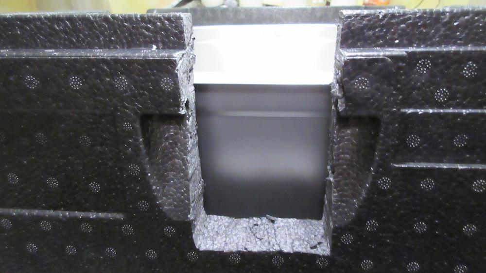 Ausschnitt Rückseite Allpax SV2 in der Thermobox