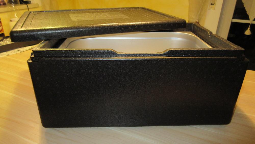 1/1 GN-Behälter mit passender Thermobox