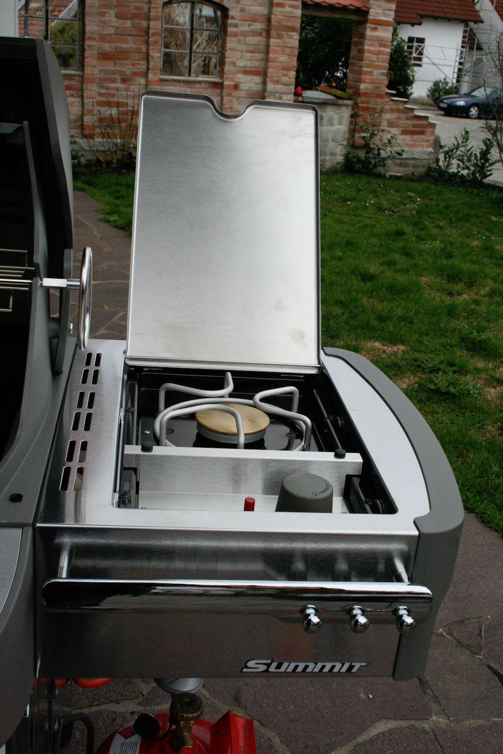 3,5 kW Seitenkocher mit Klappdeckel