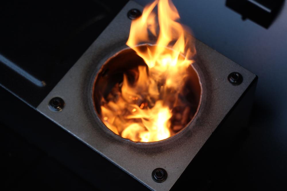 Das erste Feuer ist entfacht! Alles richtig gemacht :-)