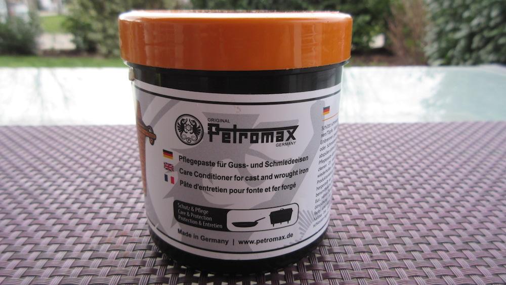 Einbrennpaste der Fa. Petromax