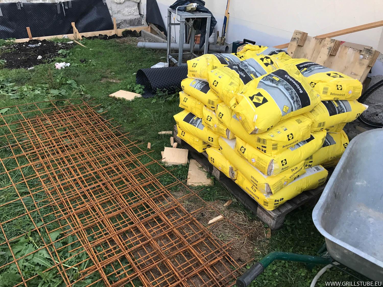 Outdoor Küche Fundament : Outdoorküche letzte beschaffungen fürs fundament andys