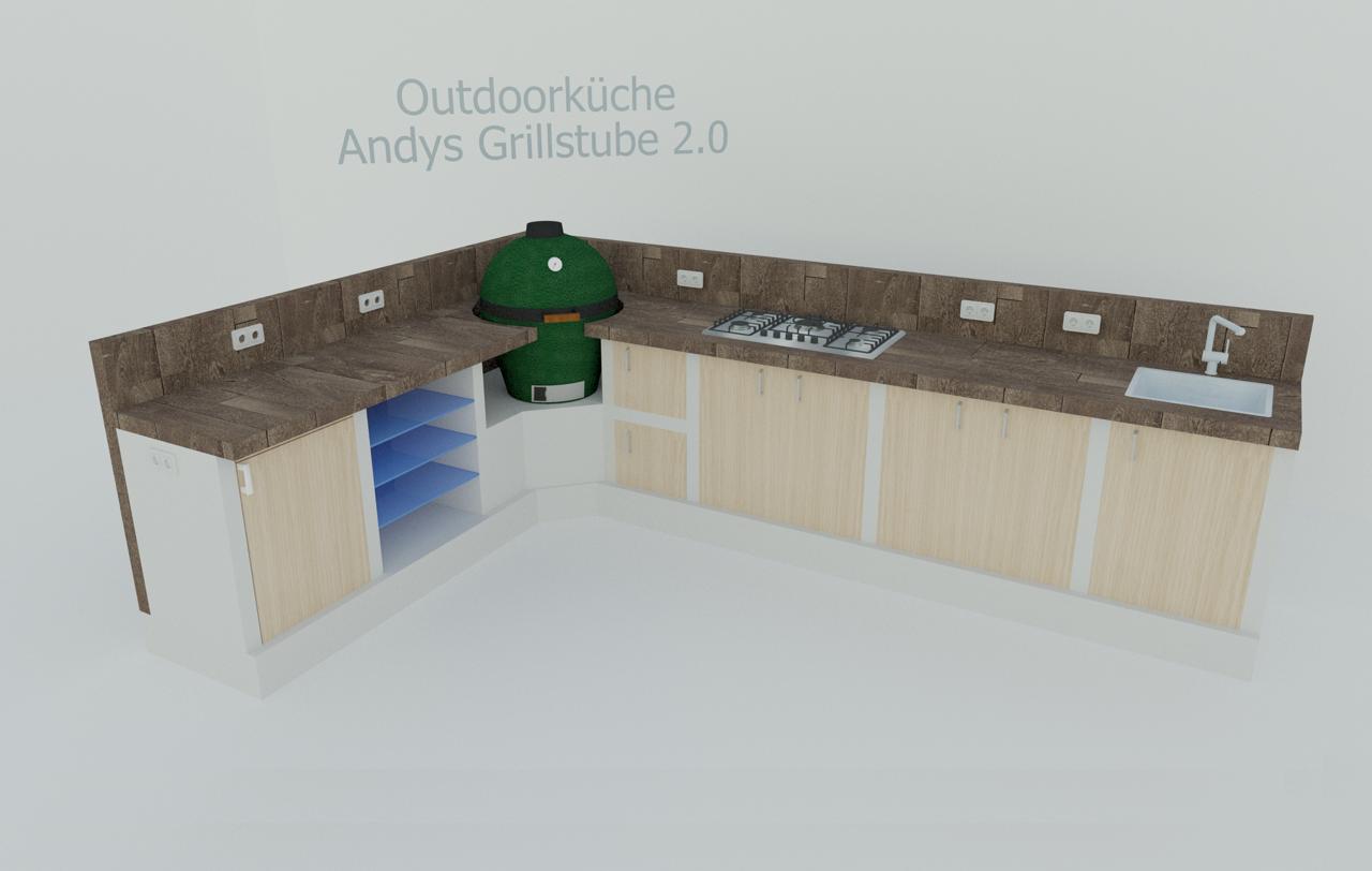 Outdoor Küche Unterschrank : Hofer enders kansas sik outdoorküche im angebot