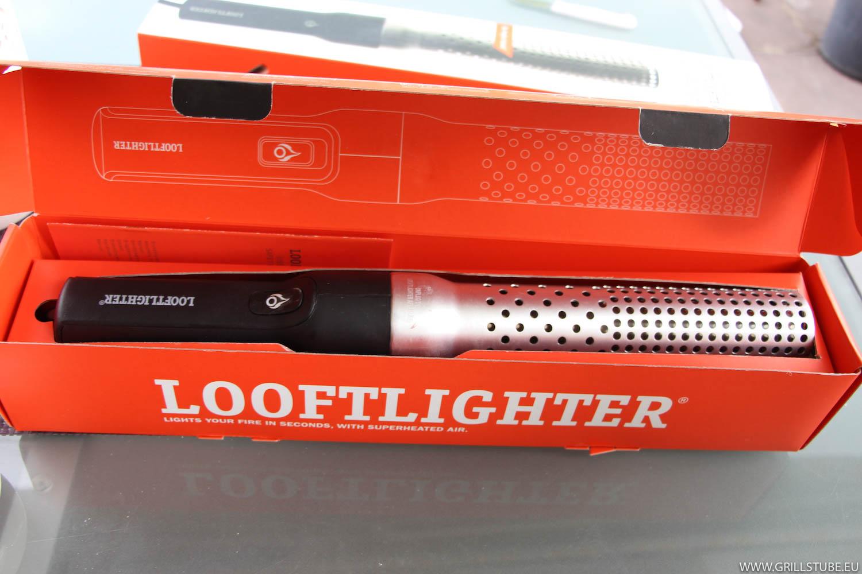 test looftlighter hei luft grillanz nder andys grillstube 2 0. Black Bedroom Furniture Sets. Home Design Ideas