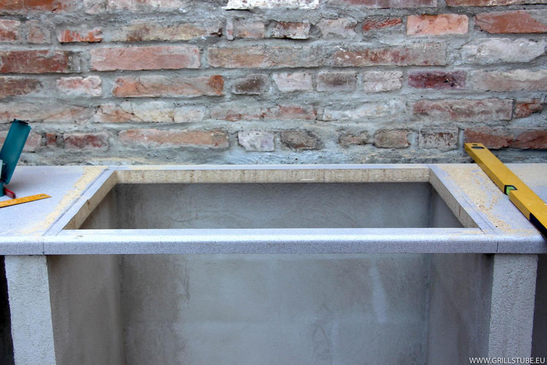 Außenküche Mit Smoker : Outdoorküche: gaskochfeld prov. arbeitsplatte andys grillstube 2.0