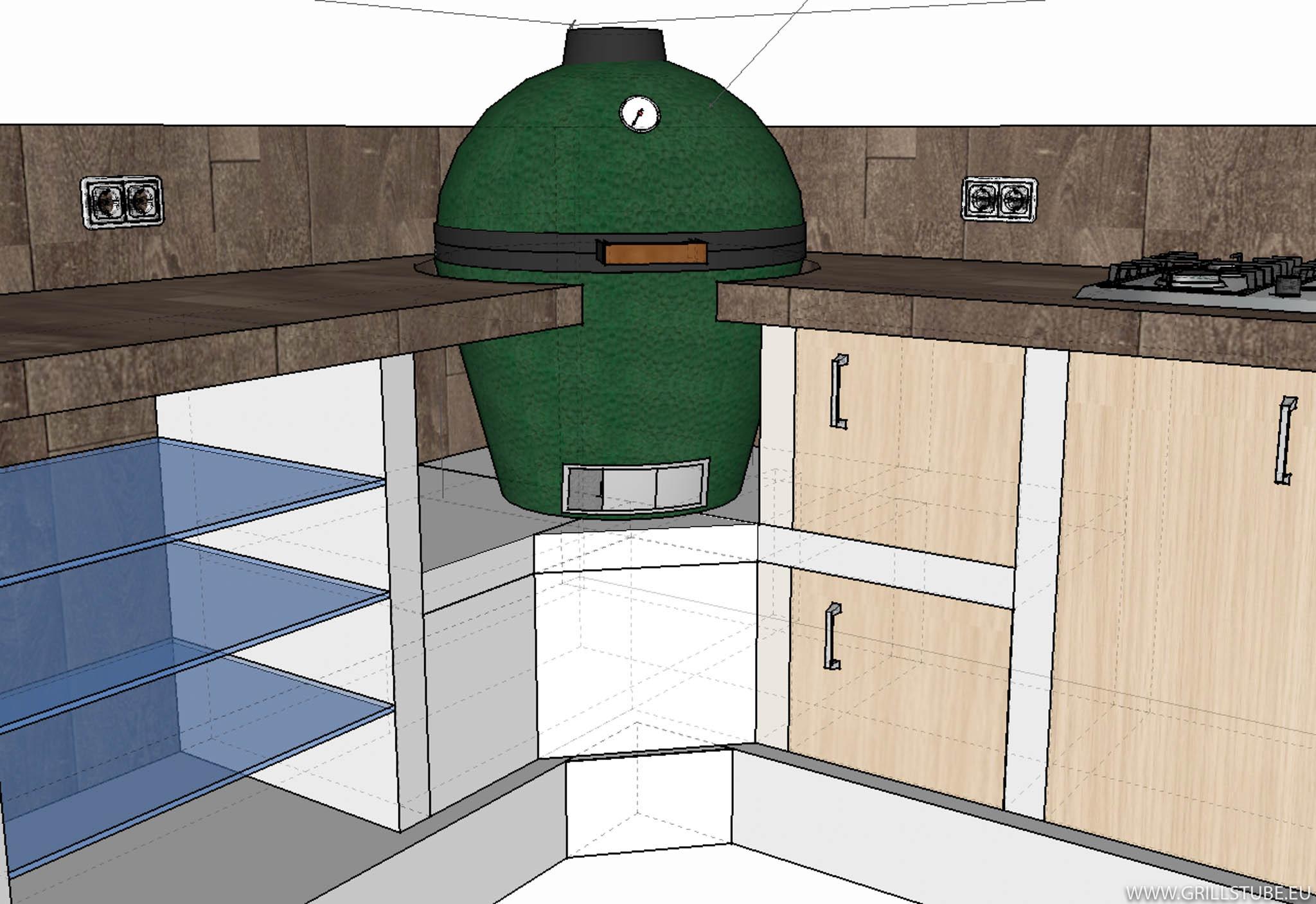 Outdoor Küche Unterbau : Outdoorküche: ende der winterpause materialbeschaffung andys