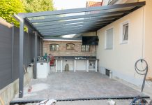 Outdoorküche Mit Kühlschrank Verlegen : Outdoorküche fundament gießen andys grillstube